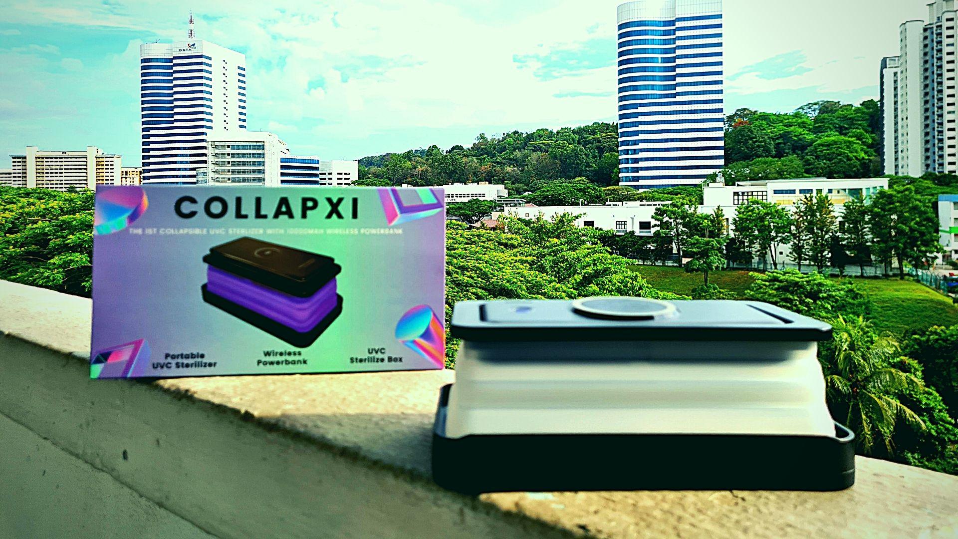 Collapxi Powerbank Box