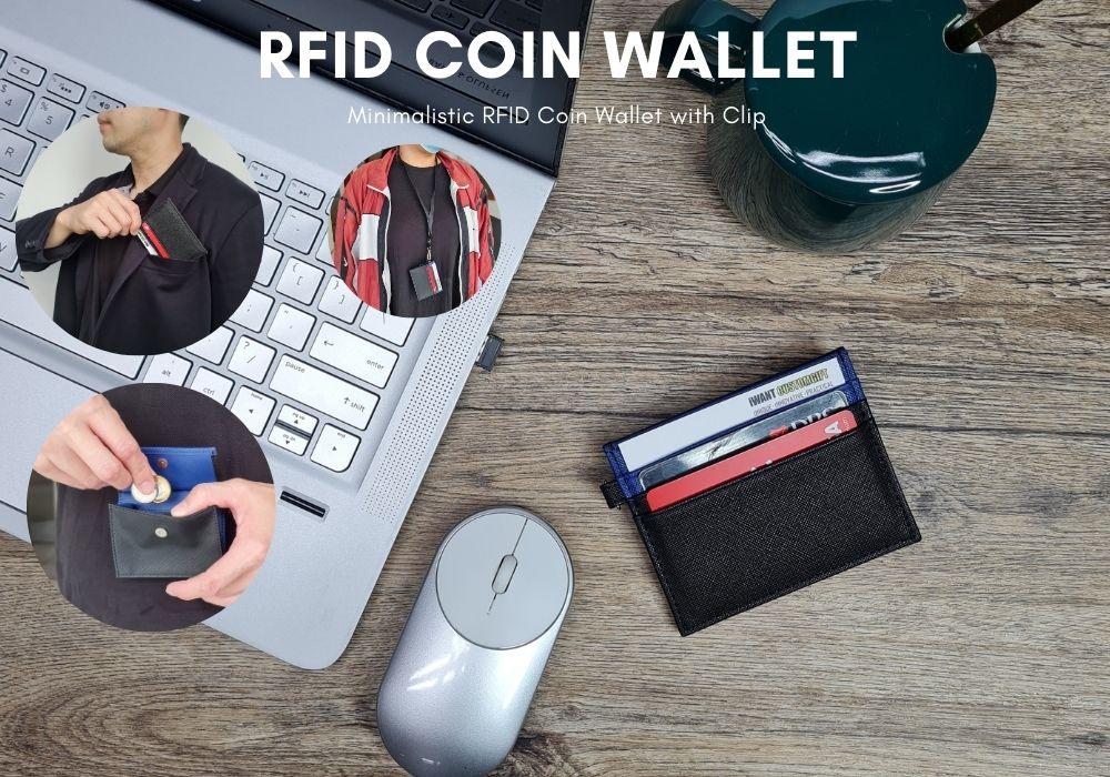 RFID Coin Wallet iSMART Creations