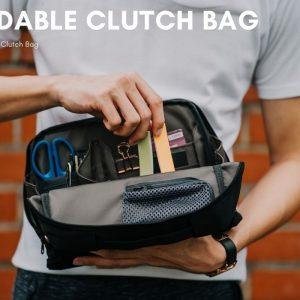 Work Clutch Bag