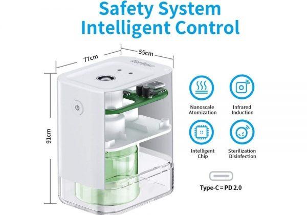 Contactless handfree sanitizer