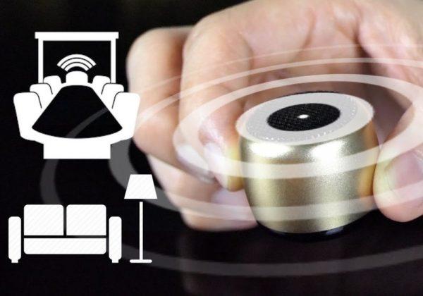 worlds smallest speaker