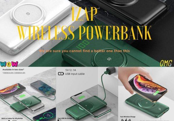 IZAP wireless powerbank
