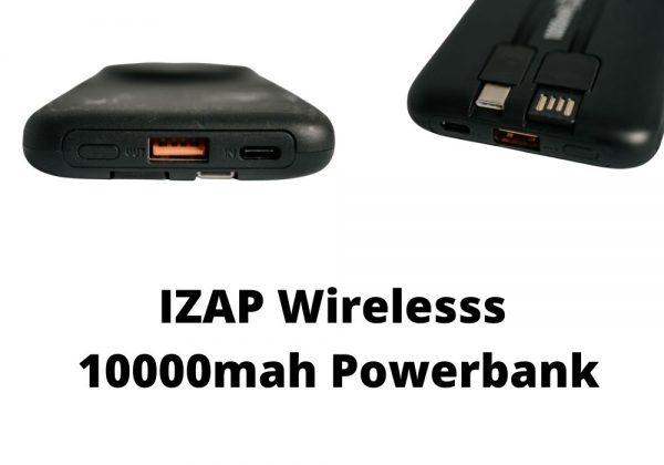 IZAP Wireless 10000MAH Powerbank