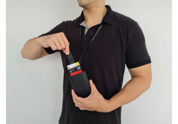 Anti RFID Slim Wallet