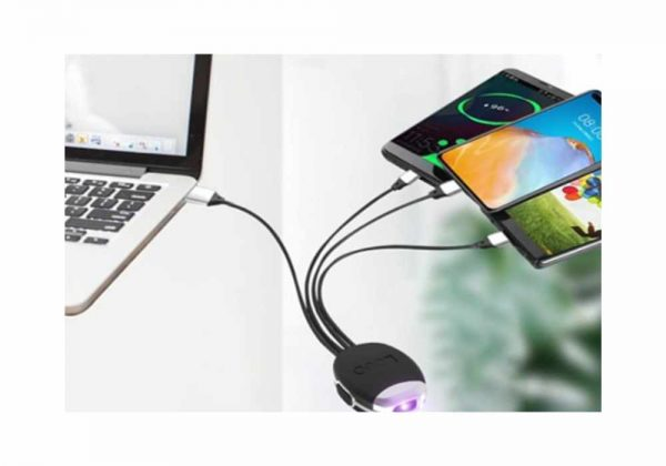 UVC smart charging cable