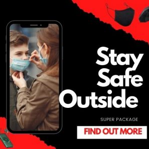 Take Care and Stay Safe Outside Package