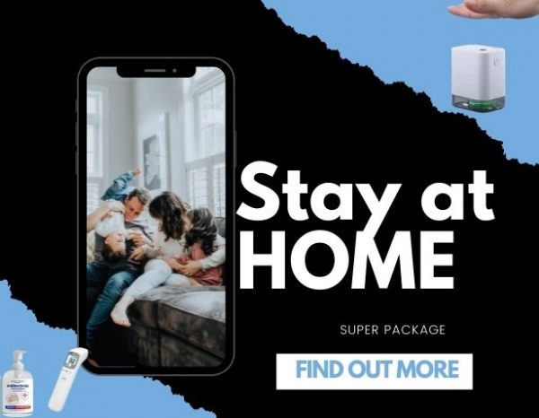 Duo Double Package, iSMART Stay at Home Package